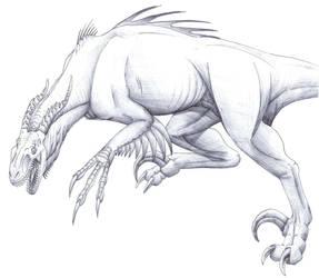 Raptor Dragon for Sandragon by DargonXKS