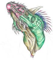 Dino Doodle 2 by DargonXKS