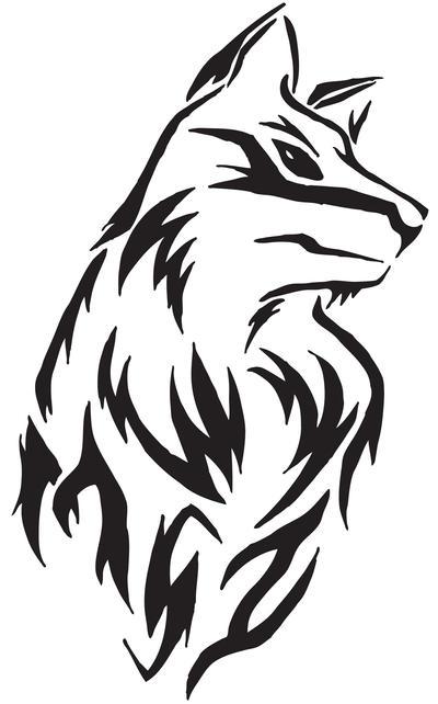 wolf tattoo design. Wolf Tattoo Design by