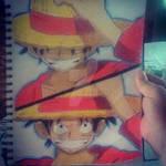 Monkey D. Luffy by THINKOFART