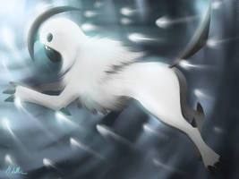 Absol by Crescentia-Fortuna