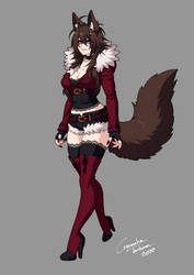 Demon Hunter Red