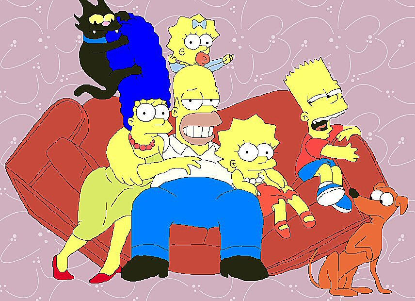 The Simpsons by MaterialGurl15
