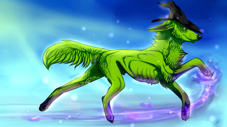 wicked wolf by Velkss