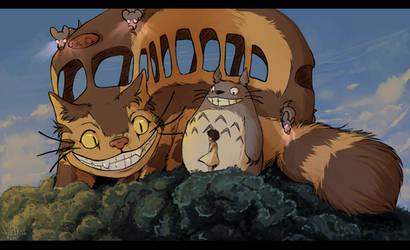 Totoro by Velkss