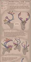 Reindeer/Caribou antlers [TUTORIAL]
