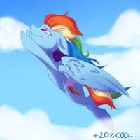 Rainbowdash by Phelopon
