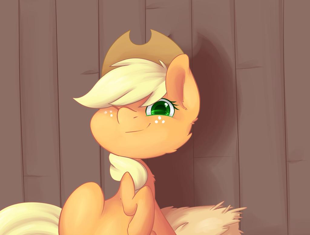 Applejack by Phelopon