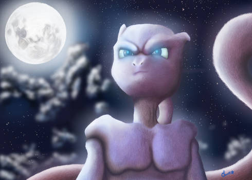 Mewtwo - Moonlight