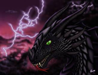 Strun'Ala - Dragon portrait