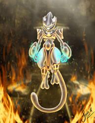 Mewtwo - Genetic Pokemon (Armoured Version) by Savirox723