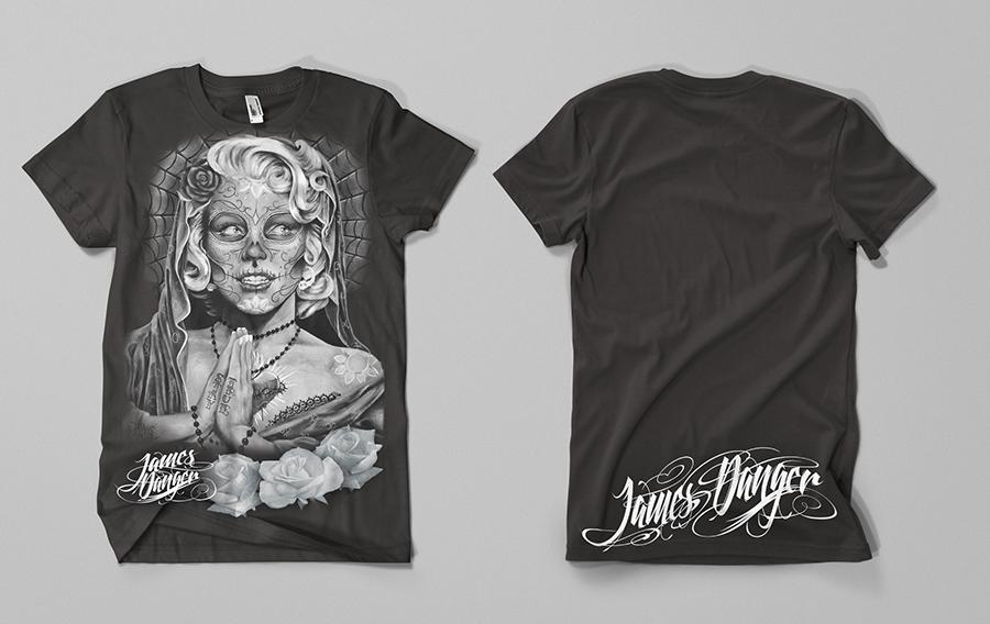 DOD grey t-shirt by jamesdangerharvey