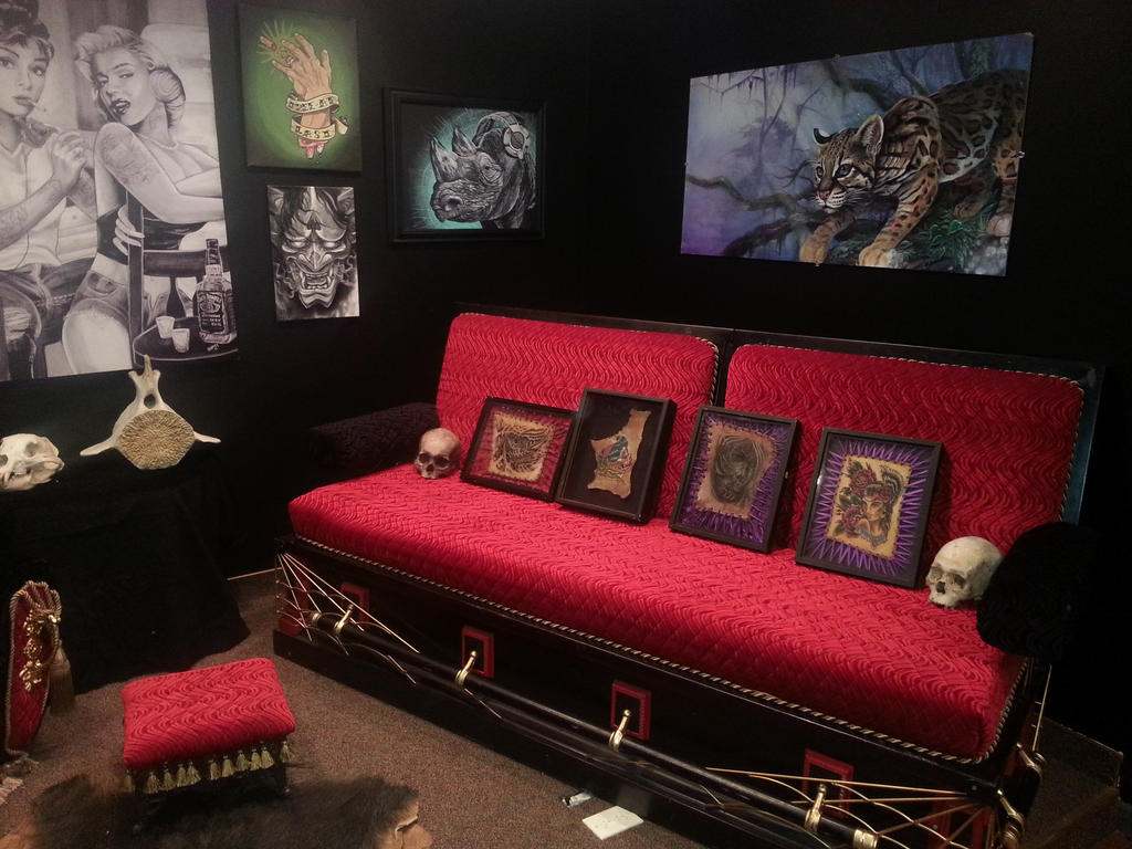 Original coffin couch by jamesdangerharvey ...