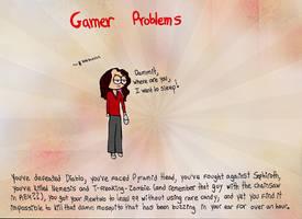 Gamer problems by luartandcomics