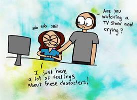 So many feelings. by luartandcomics