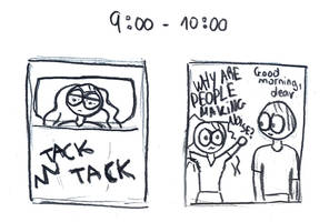 Hourly Comic Day by luartandcomics