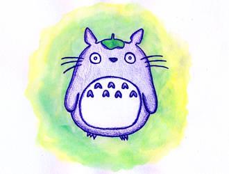 Totoro by luartandcomics