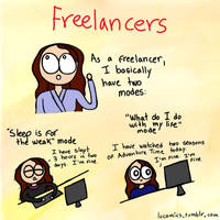 Freelancers by luartandcomics