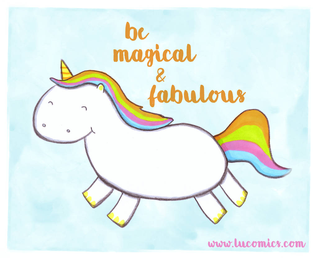 Magical and Fabulous by luartandcomics