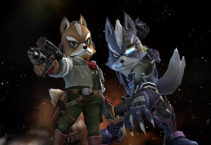 SSBB - Fox and Wolf by Zakca