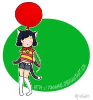 ItAnime mascotte by Rizeru-chan