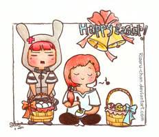 Happy cute Easter by Rizeru-chan