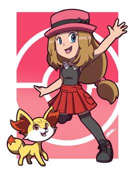 Pokemon Anime Favourites: Serena