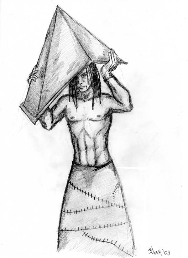 Pyramid Head Without Helmet By Mornaainu On Deviantart