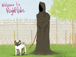 Walking The Dog - Welcome to Night Vale by dontevenknow-anymore