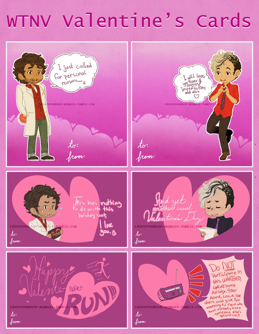 WTNV Valentine Cards by dontevenknowanymore on DeviantArt – Digital Valentine Card
