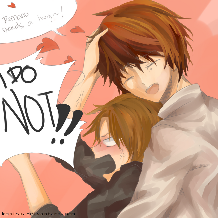 Spam romano with love, from boss by Konisu