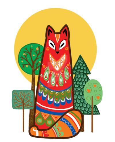 Fox by deMefa
