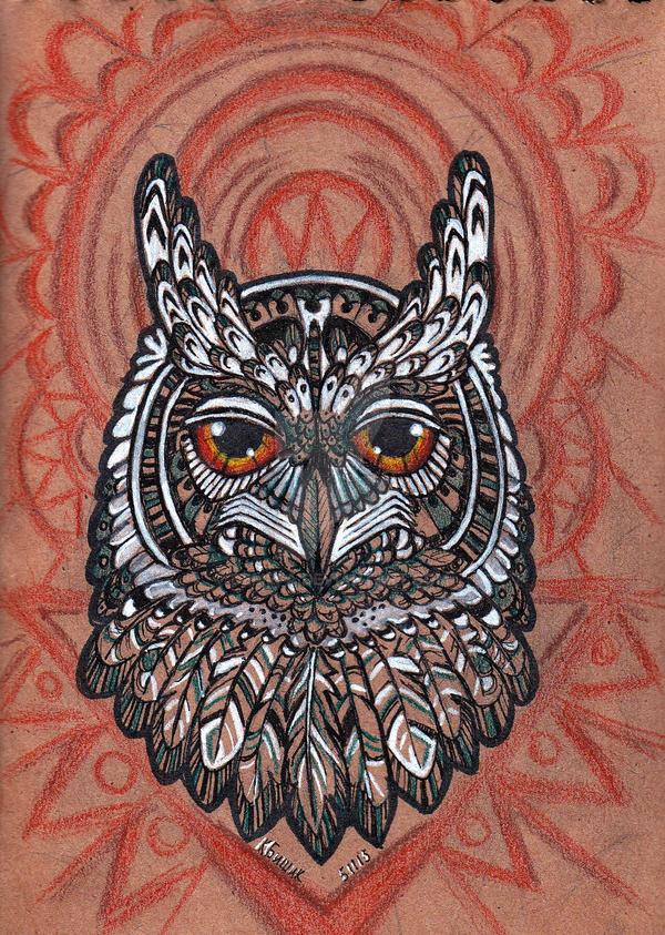 Owl by deMefa