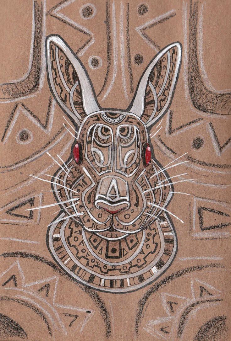 rabbit by deMefa