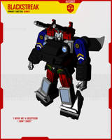 AUTOBOT BLACKSTREAK by F-for-feasant-design