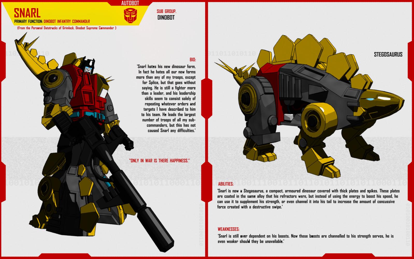 Transformers 4 dinobot snarl