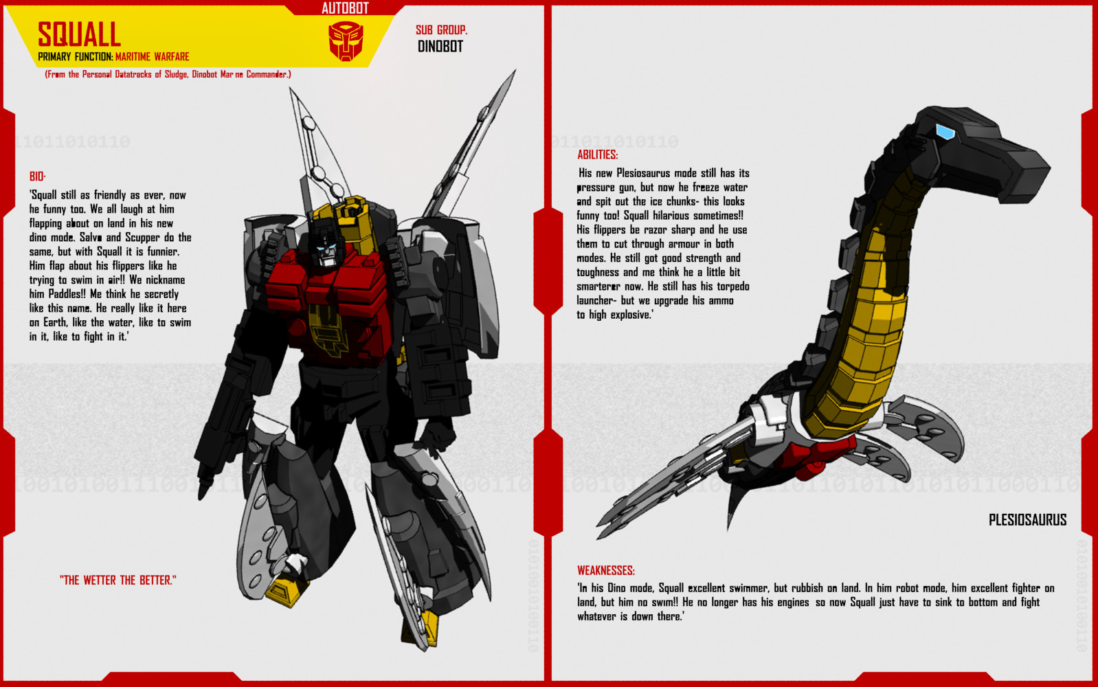 Dinobot Squall By F For Feasant Design On Deviantart