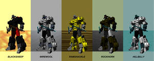 ZODIACBOTS- THE SIGN OF THE RAM. by F-for-feasant-design