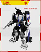 AUTOBOT DODGER by F-for-feasant-design