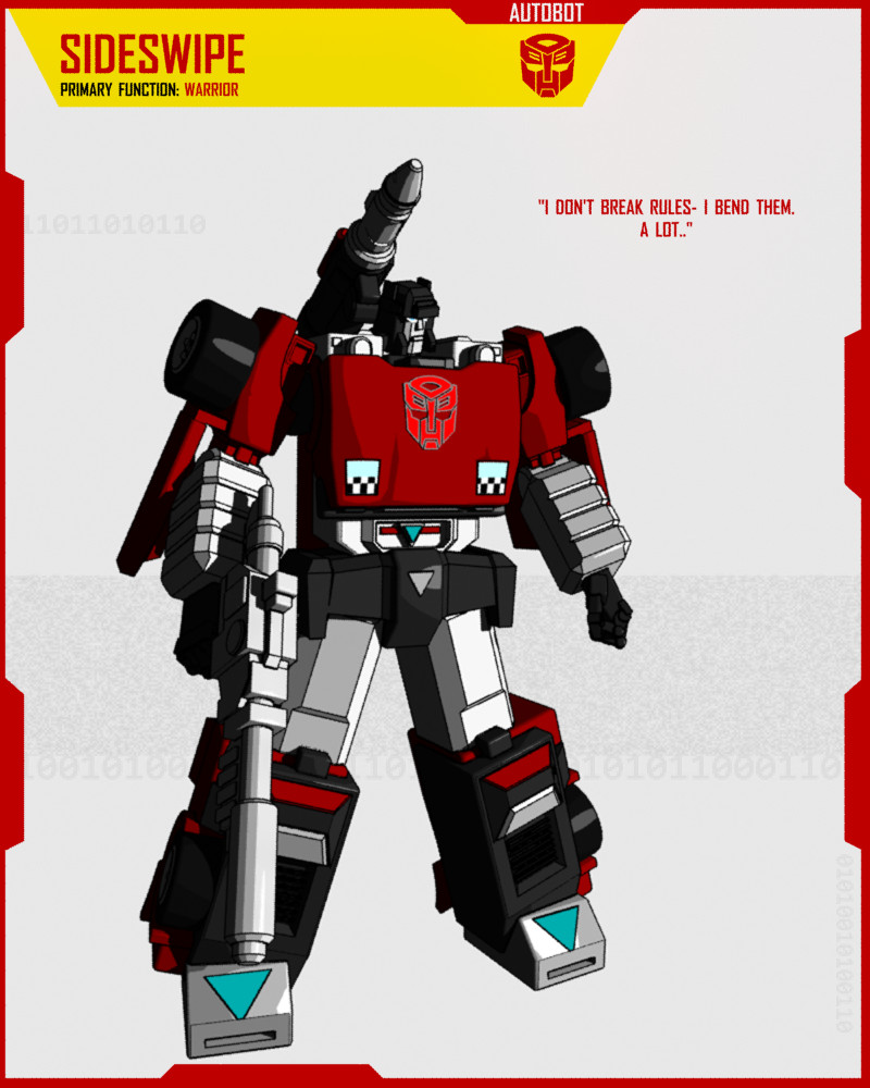 AUTOBOT SIDESWIPE By F-for-feasant-design On DeviantArt
