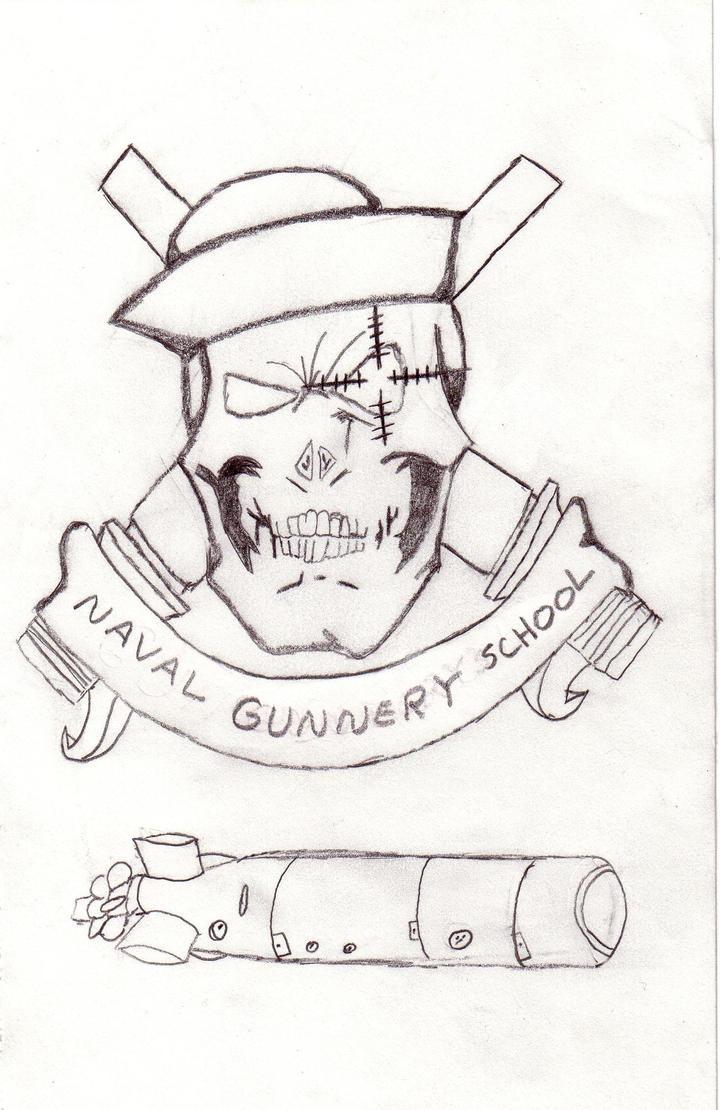 Gun School Sketch by ravenscry69