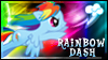 Rainbow Dash Stamp by jewlecho