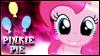 Pinkie Pie Stamp