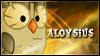Aloysius Stamp by jewlecho