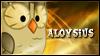Aloysius Stamp by jewlecho