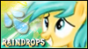 Raindrops Stamp by jewlecho