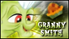 Granny Smith Stamp by jewlecho