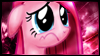 Sad Pinkie Stamp by jewlecho