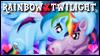 Rainbow x Twilight Stamp by jewlecho