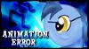 Animation Error Pony Stamp by jewlecho